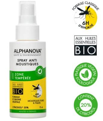 Spray anti-moustiques Bio