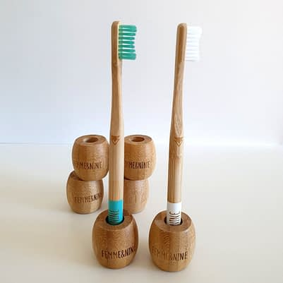 support brosse à dents