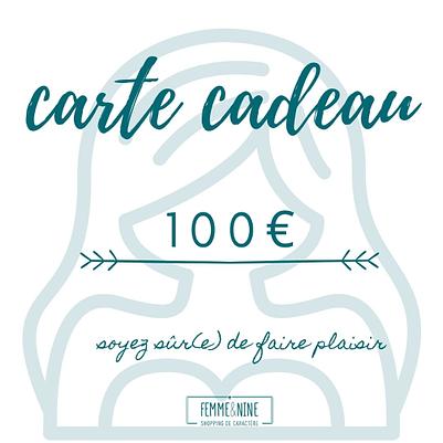 carte cadeau 100€